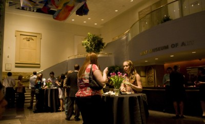 The main lobby provided a space for us to congregate, mingle, eat and have some fun.
